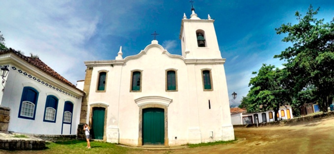 Igreja Santa Rita Paraty